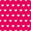 Romantic seamless pattern with hearts — Stock Vector #41555385