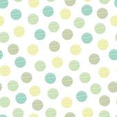 Seamless pattern, polka dot fabric — Stock Vector