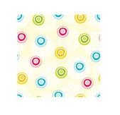 Cute polka dot pattern. — Stockvector