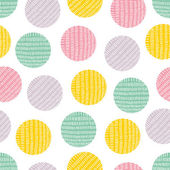 Seamless pattern, polka dot fabric — Stock Vector