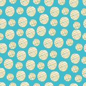 Polka dot patroon. — Stockvector