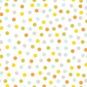 Seamless pattern, polka dot fabric — Wektor stockowy