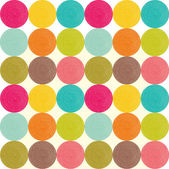 Seamless pattern with bright circles. — Vecteur