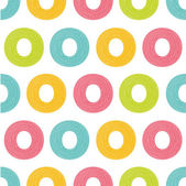 Seamless pattern with bright circles — Vector de stock