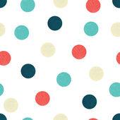 Cute sea polka dot — Stock Vector