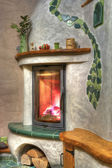 Fireplace — Foto de Stock