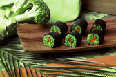 Raw food rolls — Stock Photo