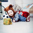 Baby boy dressed as a bear — Stock Photo #51540211