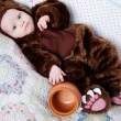 Baby boy dressed as a bear — Stock Photo #51540317