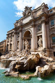 The Famous Trevi Fountain, rome, Italy.  — Stock Photo