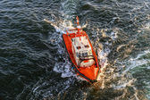 Coast Guard lifeboat.  — Stock Photo