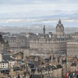 Fragment of old town centre in Edinburgh, capital of Scotland. — Stock Photo #44284019