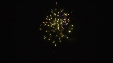 Large fireworks 2 — Stock Video
