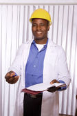 Portrait of friendly medical doctor — Stock Photo