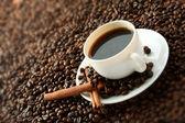 咖啡的杯子 — 图库照片