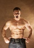 Sexy muscular man — Stock Photo