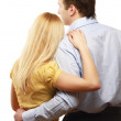 A couple, a back view — Stock Photo #41180363