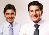 Pessoas de negócios que estão — Fotografia Stock