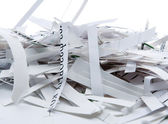 Pile of shredded paper — Stock Photo