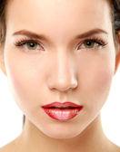 Professional Make-up. Lipgloss — Stock Photo