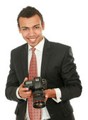 Professional photographer — Stockfoto