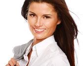 美しい女性実業家 — ストック写真