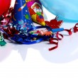 Stock Photo: Birthday party decorations