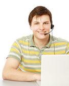 A customer service agent — ストック写真
