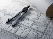 Architektura & narzędzia. — Zdjęcie stockowe