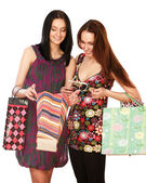 Women in a shopping center. — ストック写真