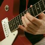 Постер, плакат: Guitarist playing