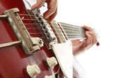 Guitarist playing — Stock Photo