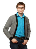 Man wearing glasses — Stock Photo