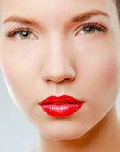 Make-up. Lipgloss — Stock Photo
