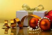 Cristmas gift. — Stock Photo