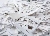 Pile of shredded paper. — Stock Photo