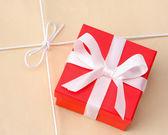 Kleines rotes Geschenk — Stockfoto
