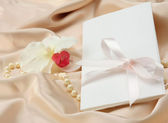 Tarjeta de invitación — Foto de Stock