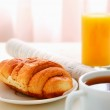 ������, ������: Croissants Coffee Juice and Newspapers