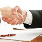Handshake of business partners — Stock Photo #46522449