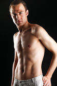 Портрет голые Мускулистые мужчины — Стоковое фото