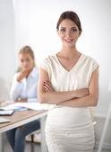 Business people Having Meeting  In Office — Stock fotografie