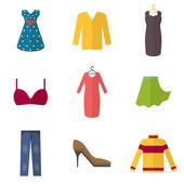 Woman clothing set — Wektor stockowy