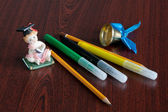 School still-life — Foto de Stock