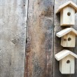 Many small birdhouses — Stock Photo #42644431