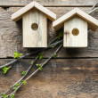 Nesting boxes — Stock Photo #42948581