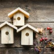 Nesting boxes — Stock Photo #42948595