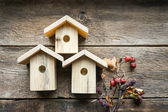 Nesting boxes — Stock Photo