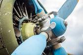 Old aircraft — Stock Photo