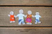 Happy family concept — Stock Photo